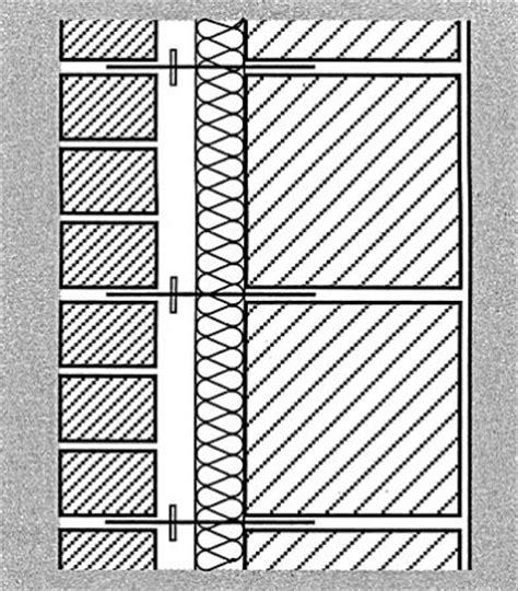 2 schaliges mauerwerk zweischaliges mauerwerk mit luftschicht und w 228 rmed 228 mmung bauemotion de