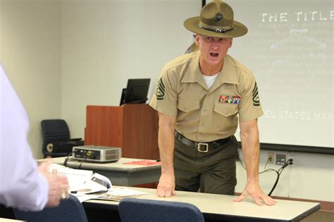 civilian marines learn  ins  outs   serving