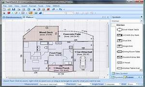 simple floor plan software floor plan design software free With floor layout program free