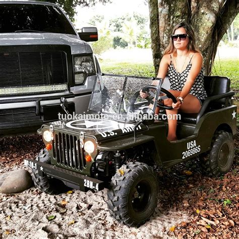 40 in gas range 125cc manual willys jeep 110cc mini jeep for 150cc go