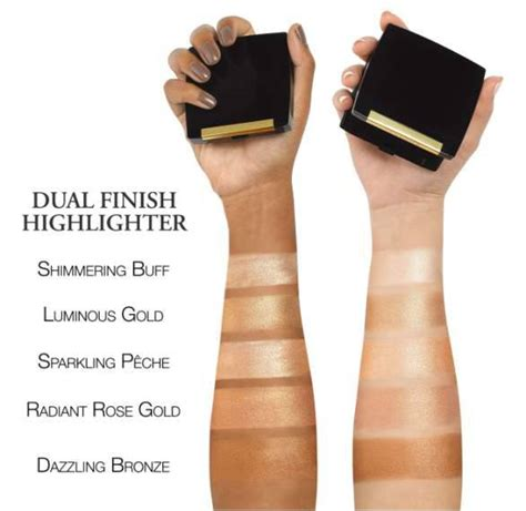 lancome dual finish highlighter swatches beauty trends