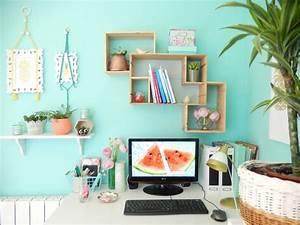 Idée Déco Bureau Maison : d co bureau turquoise ~ Zukunftsfamilie.com Idées de Décoration