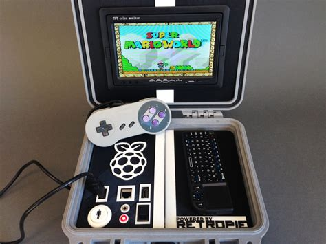 Retro Pie Box  Portable Raspberry Pi Emulation Console
