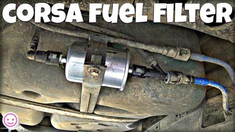 corsa  fuel filter replacement funnydogtv