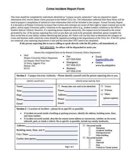 free crime reports homicide report template 28 images missing persons