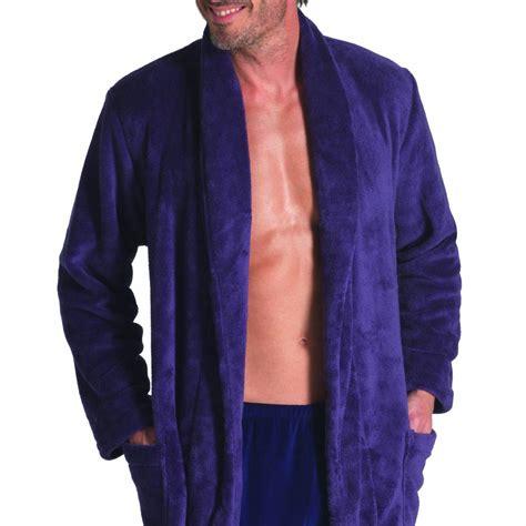 robe de chambre hommes robe de chambre polaire eminence ceinturée couleur