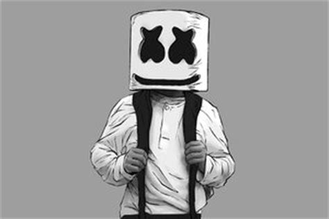 Marshmello Dj Material Design Logo  Music Hd 4k Wallpapers