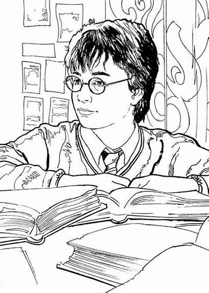Harry Potter Coloring Library Netart