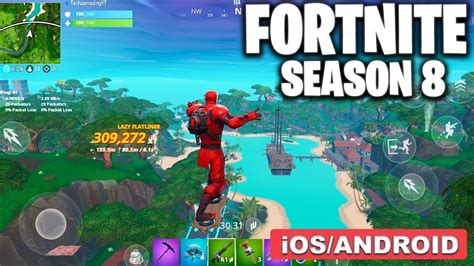 fortnite mobile season  gameplay androidios youtube