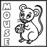 Mouse Coloring Word Printables Animal Farm Results Printables4kids Cow Popular sketch template