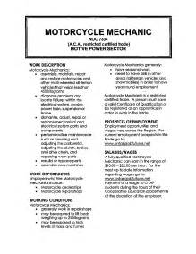 Maintenance Mechanic Sle Resume by Harley Davidson Mechanic Resume Sales Mechanic Lewesmr