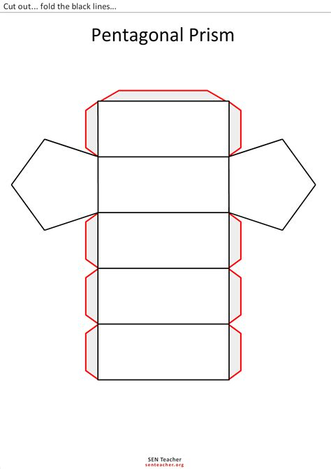 Caracteristicas Template by The Gallery For Gt Rectangular Prism Template