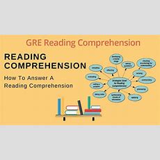 How To Answer A Reading Comprehension Question? Practice For Gre Youtube