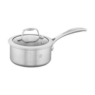 shop cooks standard  quart multi ply clad stainless steel