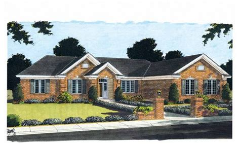 Brick Bungalow Home Plans Brick Bungalows In K-town