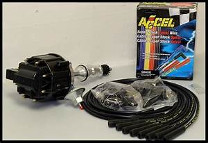 Ford Fe 352 360 390 427 428 Hei Distributor  U0026 Accel Wires