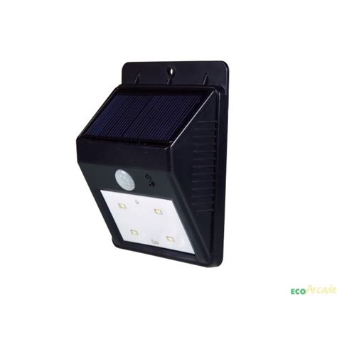 powerplus cat solar pir security courtesy light eco arcade