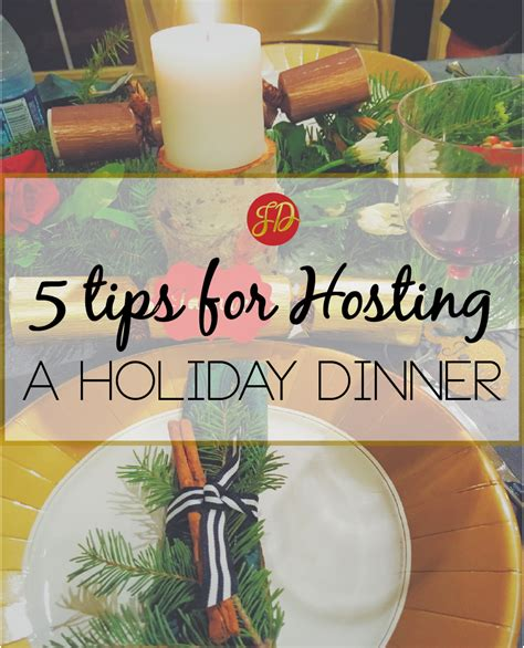 5 Tips For Hosting Christmas  Jamie Danno