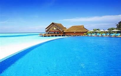 Maldives Amazing Beach Wallpapers Desktop Sea Island