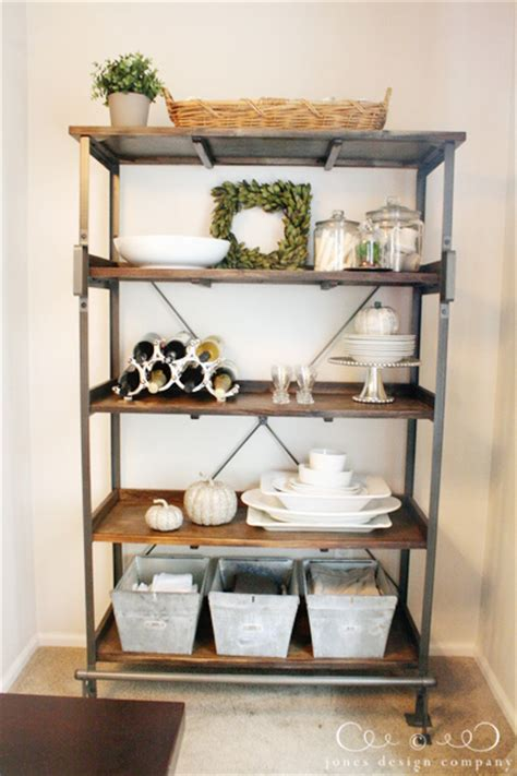 Pleasantly Surprised {a New Dining Room Display Shelf