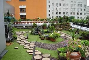 Urban Rooftop Garden Design Photo Gallery