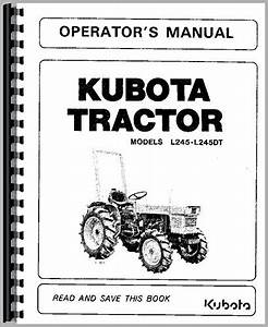 Kubota L245dt For Sale