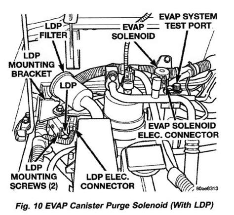 2011 Jeep Wrangler Purge Solenoid Wiring Diagram by Evap Service Port Location Jeeps Net Forum