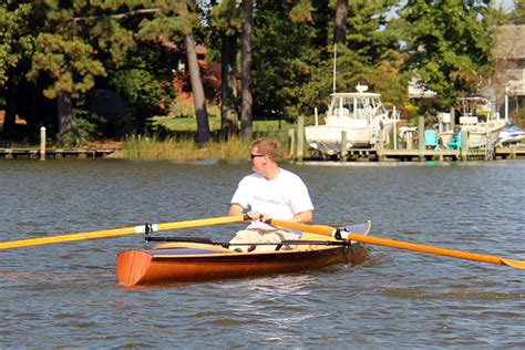 Efficient Boat Oars by Sculling Oars Construction And Use