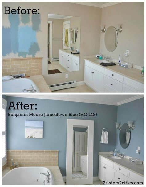 Blue Bathroom Paint Colors by Master Bathroom Paint Color Reveal Hime Sweet Hime