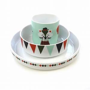 Vaisselle En Porcelaine : set de vaisselle circus en porcelaine ferm living pour chambre enfant les enfants du design ~ Teatrodelosmanantiales.com Idées de Décoration