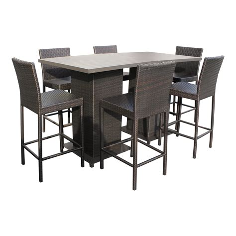 patio furniture new modern bar height patio table napa