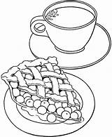 Coloring Tea Teapot Cup Printable Sheets Getcolorings sketch template