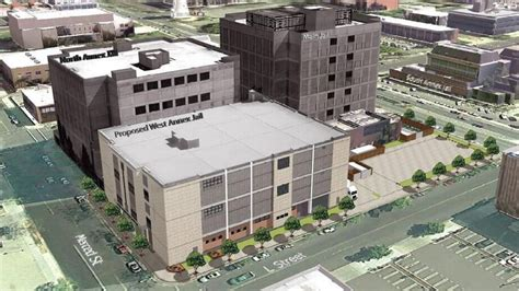 construction begins downtown fresno jail facilty fresno bee