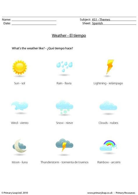 weather worksheets new calendar template site
