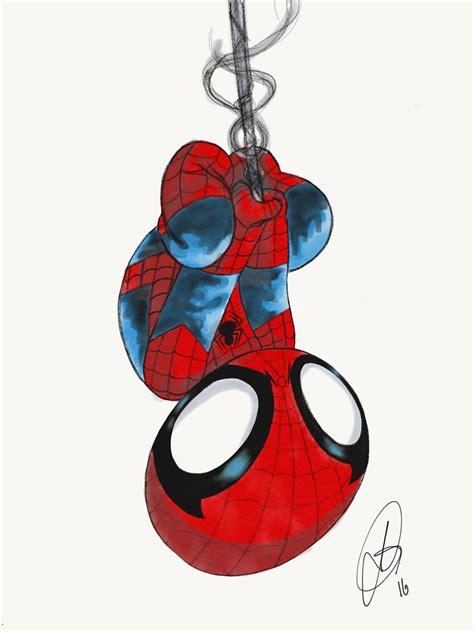 amazing spider man baby variant  behance
