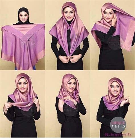 latest beautiful hijab styles tutorial