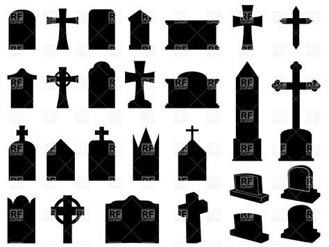 Cartoon Gravestone Cross