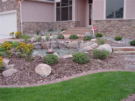 garden simple front door  yard landscaping  brick floor model  champsbahraincom