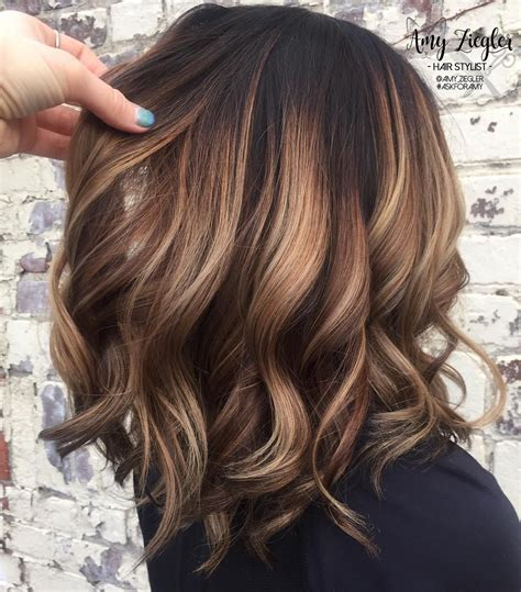 Flattering Colors For Brunettes by 70 Flattering Balayage Hair Color Ideas For 2019