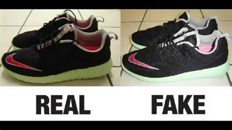 spot fake nike roshe run fb yeezy trainers real  fake comparison youtube