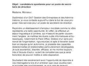 lettre de motivation secretaire de direction lettre de motivation secr 233 taire juridique par lettreutile
