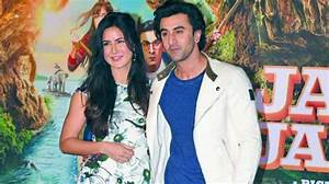 Katrina Kaif and Ranbir Kapoor on the same stage