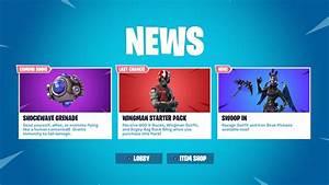 Fortnite Shockwave Grenade Coming Soon Nintendo Insider