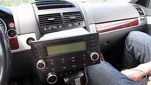 2003 Volkswagen Touareg Radio Removal