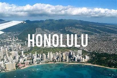 Honolulu Hawaii Capital Oahu Places Gorgeous Usa
