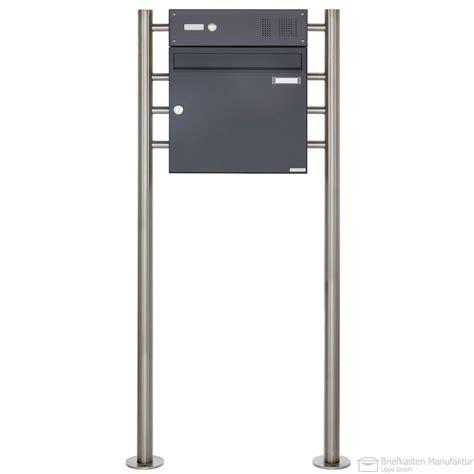 briefkasten freistehend anthrazit design briefkasten freistehend basic 381 k7016 anthrazit
