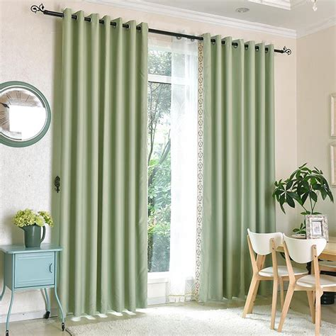 sage green sliding door elegant energy saving curtains