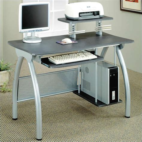 computer desk with keyboard tray ikea desks gray computer desk w keyboard tray computer