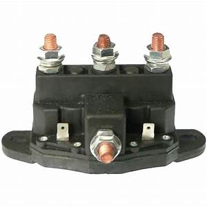 12 Volt Reversing Continuous Duty Solenoid Relay Winch