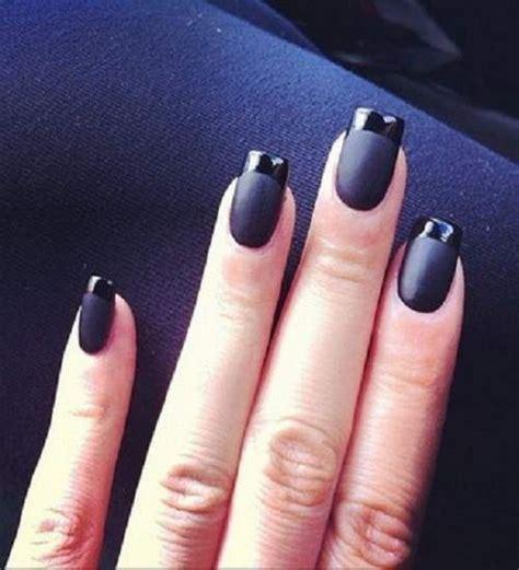 nägel schwarz gold acryln 228 gel schwarz